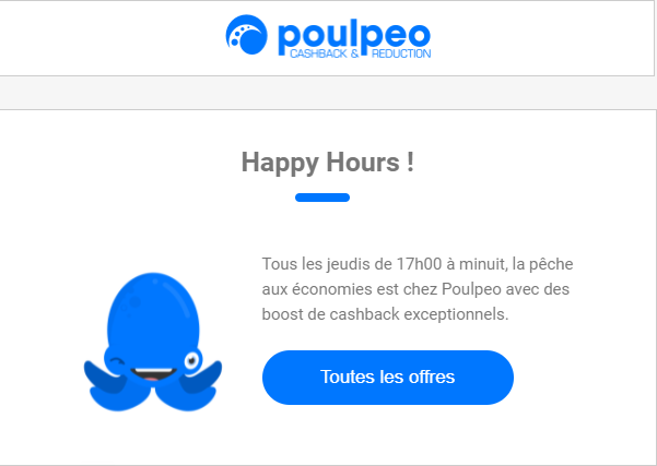 Poulpéo - Happy Hours